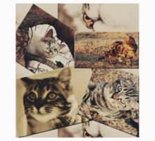 Cat collage Kids Clothes