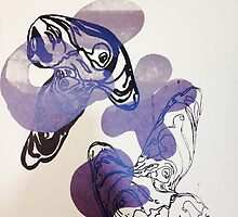 Screen print  by LauraRoxby