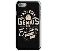 Born Genius iPhone Case/Skin