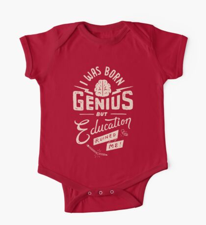 Born Genius One Piece - Short Sleeve