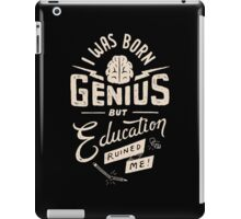 Born Genius iPad Case/Skin