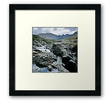 The Fairy Pools, Glen Brittle, No 1 Framed Print