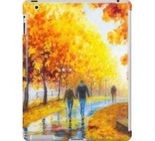 Autumn parkway iPad Case/Skin
