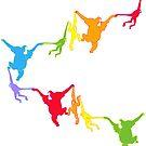 Rainbow Monkeys by jamface