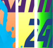 Skatin' 24/7 Sticker