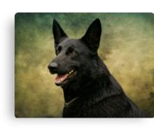 Storm - German Shepherd Dog Canvas Print