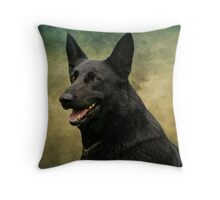 Storm - German Shepherd Dog Throw Pillow