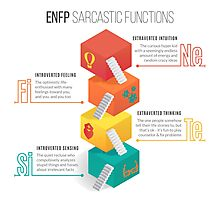 ENFP Sarcastic Functions Photographic Print