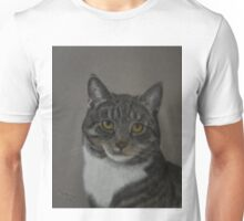 Grey Cat Unisex T-Shirt