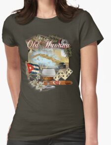 old havana  Womens Fitted T-Shirt