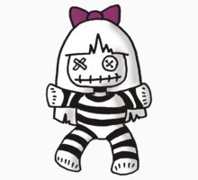 Stripey doll by Philip Bedard