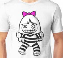 Stripey doll Unisex T-Shirt