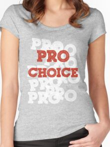 Pro Choice (Abortion rights) Women's Fitted Scoop T-Shirt
