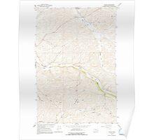USGS Topo Map Washington State WA Wilcox 244695 1964 24000 Poster