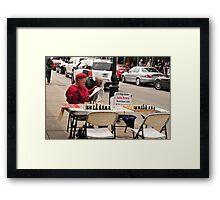 Chess Master Framed Print