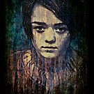 Arya Stark by Deadmansdust