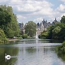 Whitehall From St James's Park, London by MagsWilliamson