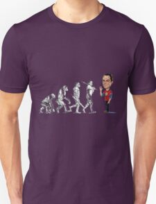 Evolution of Sheldon Unisex T-Shirt