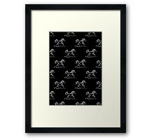 Horse 'Runner' Print and Products Framed Print
