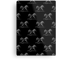 Horse 'Runner' Print and Products Metal Print