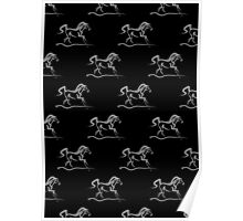 Horse 'Runner' Print and Products Poster