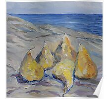 Pears By The Sea  Poster