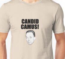 Candid Camus Unisex T-Shirt