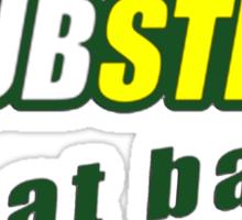 Dubstep Eat Bass Sticker