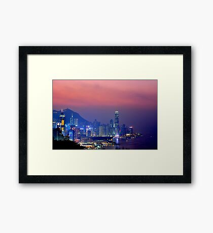 Hong Kong City #6 Framed Print