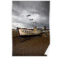 Aldeburgh Fishing Boats Poster