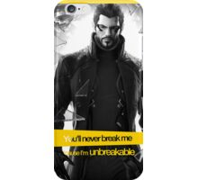 Unbreakable - Deus Ex iPhone Case/Skin
