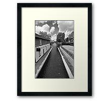 Grand Union Canal, Little Venice, London Framed Print