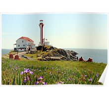 Peaceful day at Cape Forchu Poster