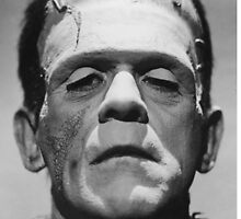 Frankenstein's Monster Karloff by Ximoc