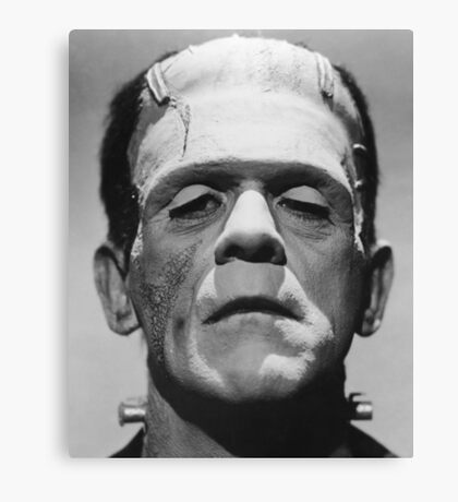 Frankenstein's Monster Karloff Canvas Print