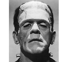 Frankenstein's Monster Karloff Photographic Print
