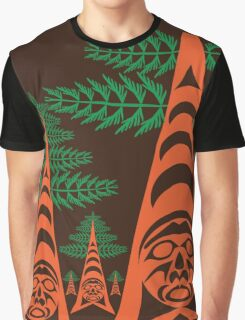 Cedar Forest Graphic T-Shirt