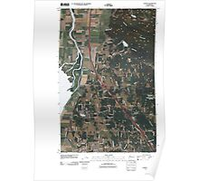 USGS Topo Map Washington State WA Conway 20110504 TM Poster