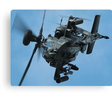 Apache Gunship Canvas Print