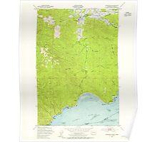 USGS Topo Map Washington State WA Knappton 241798 1949 24000 Poster