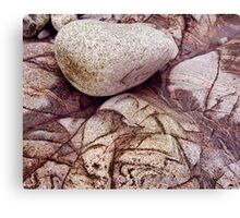 Crazy paving, Isle of Harris Canvas Print