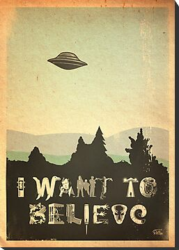 X-Phile: I WANT TO BELIEVE by Captain RibMan