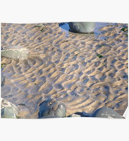 WESTWARD HO! beach patterns Poster