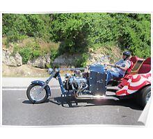 America  Head out on the Highway Poster