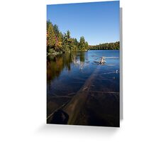 Of Fall and Fallen Giants - Take Two Greeting Card