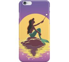 The Little Mermaid - Ariel Selfie iPhone Case/Skin