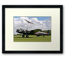 Two Lancasters at East Kirkby Framed Print