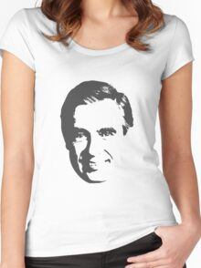 Mr Rogers Women's Fitted Scoop T-Shirt