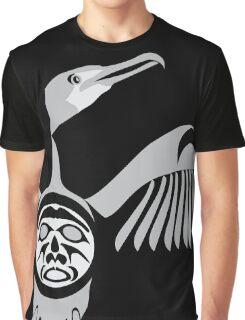 Coast Salish Cormorant Graphic T-Shirt