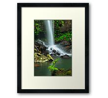 Droplets of Life Framed Print